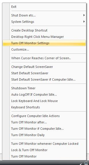 Screenshot displays how to create shutdown shortcut